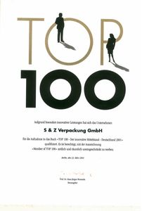 Top 100 Innovativer Mittelstand 2001